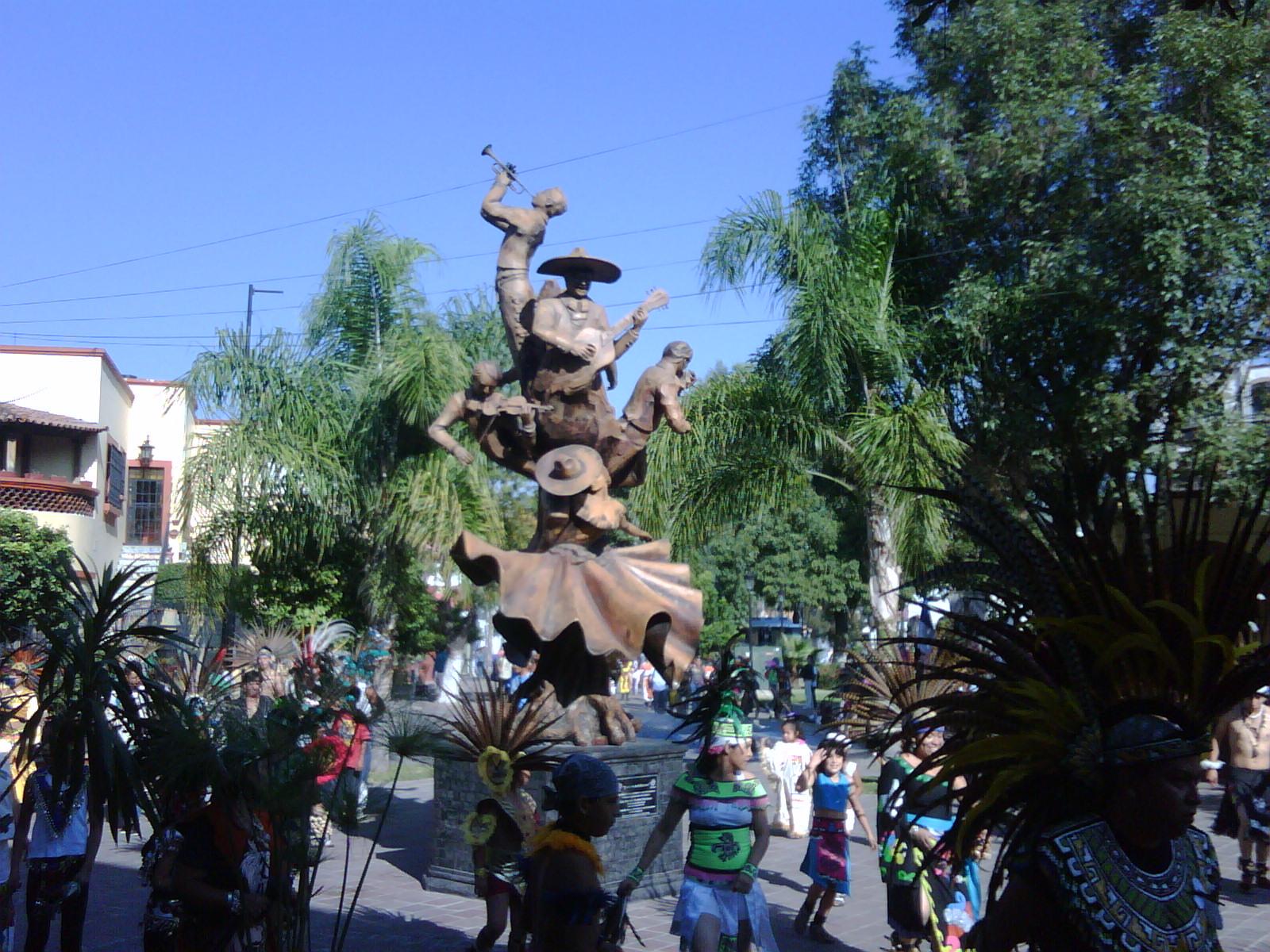 Tlaquepaque in Guadalajara sunny day