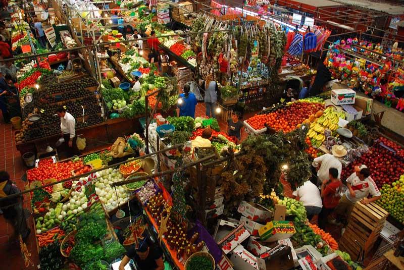 San Juan de Dios Market Liberty in guadalajara Jalisco Mexico